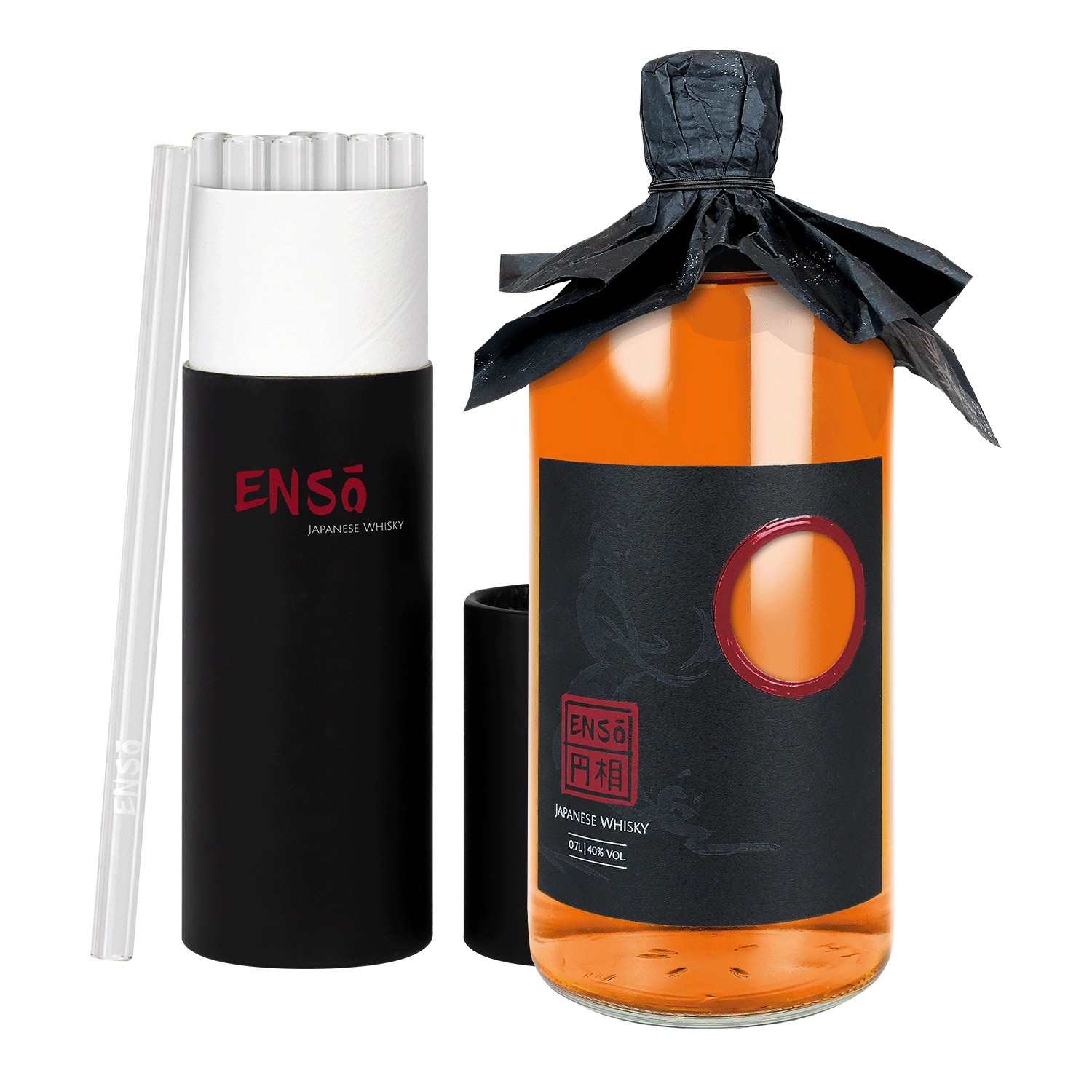 ENSO BLENDED WHISKY + GLASHALME